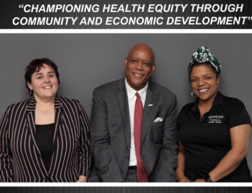 PODCAST: At The Forefront – Championing Health Equity through Community and Economic Development featuring Al Richmond and Tricia Piechowski